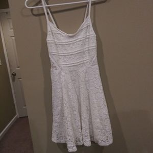 Abercrombie and Fitch Lace Camisole Mini Dress